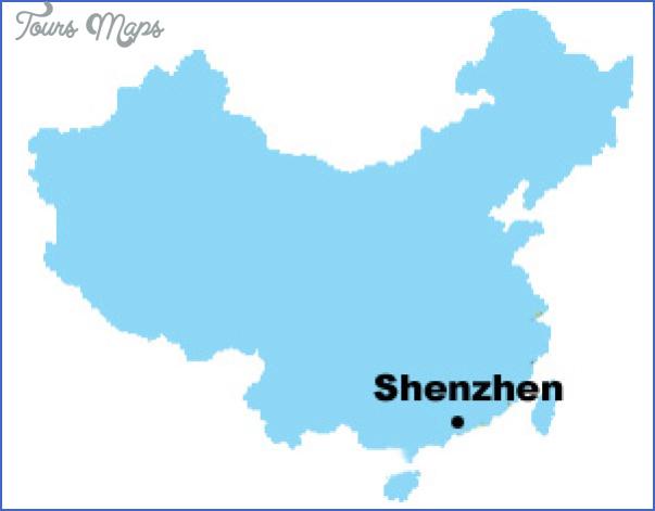 shenzhen map in china 2 SHENZHEN MAP IN CHINA