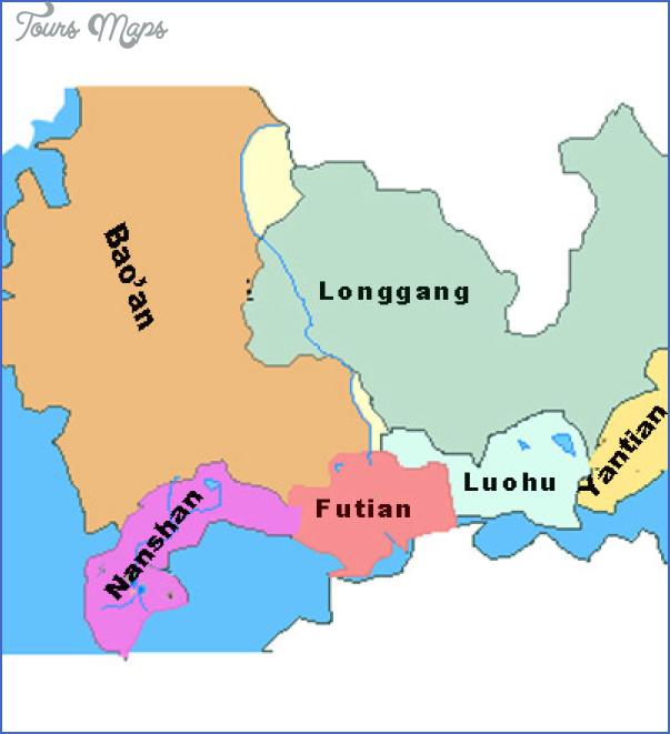 shenzhen map of china 6 SHENZHEN MAP OF CHINA