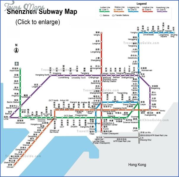 shenzhen map with metro 0 SHENZHEN MAP WITH METRO