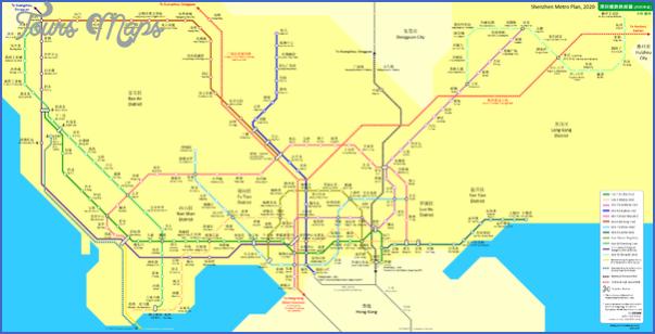shenzhen map with metro 11 SHENZHEN MAP WITH METRO