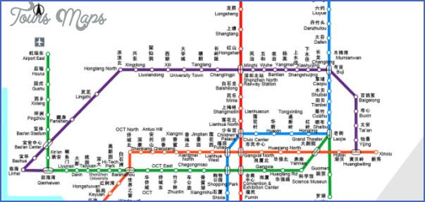 shenzhen metro 520x245 SHENZHEN SUBWAY MAP IN ENGLISH
