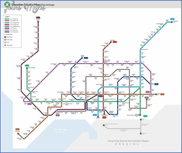 shenzhen metro rail map 5 SHENZHEN METRO RAIL MAP
