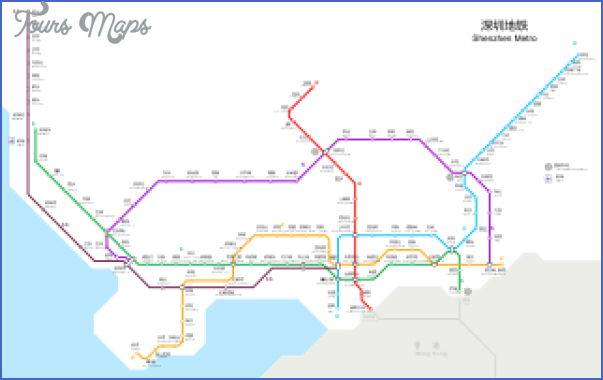 shenzhen metro route map 10 SHENZHEN METRO ROUTE MAP