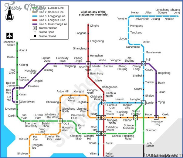 shenzhen metro route map 11 SHENZHEN METRO ROUTE MAP