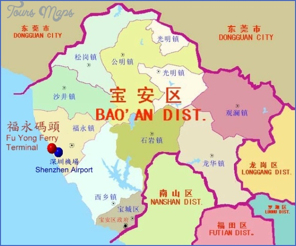 shenzhen port map 2 SHENZHEN PORT MAP