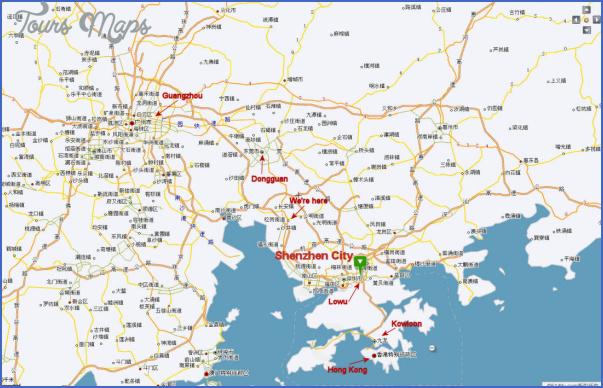 shenzhen port map 7 SHENZHEN PORT MAP