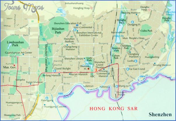 shenzhen province map 0 SHENZHEN PROVINCE MAP