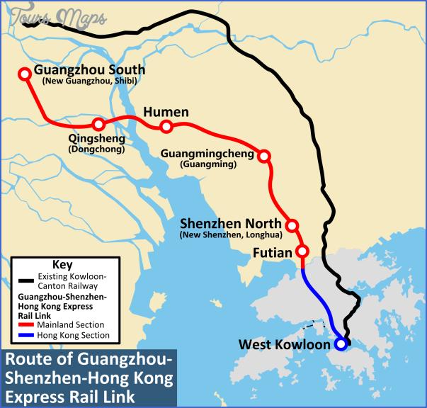 shenzhen rail map 10 SHENZHEN RAIL MAP