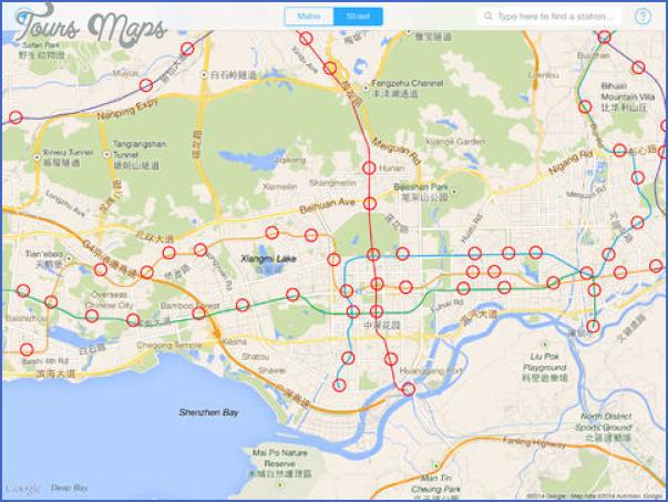 shenzhen rail map 9 SHENZHEN RAIL MAP