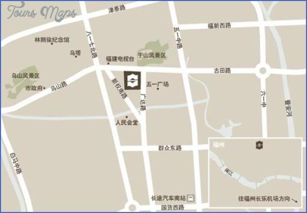 shenzhen shangri la hotel map 24 SHENZHEN SHANGRI LA HOTEL MAP
