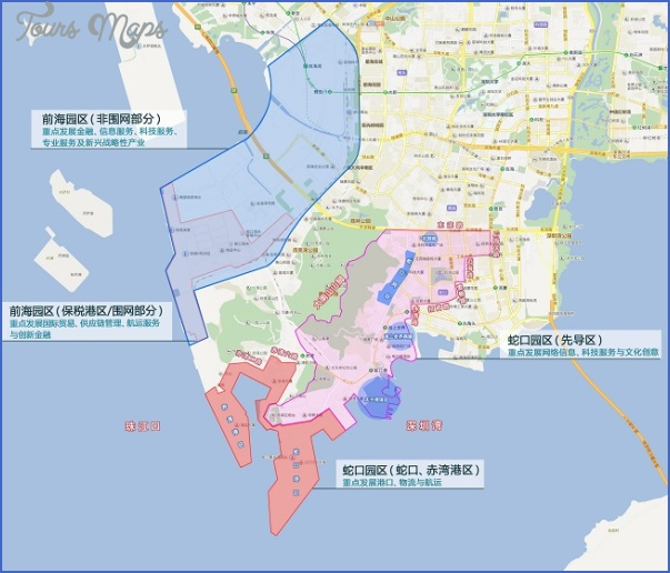 shenzhen shekou port map 11 SHENZHEN SHEKOU PORT MAP