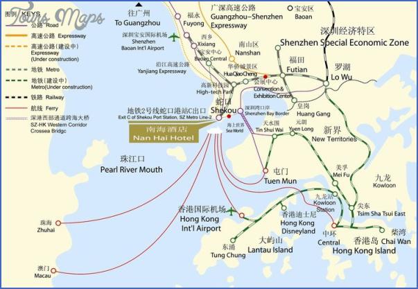 shenzhen shekou port map 3 SHENZHEN SHEKOU PORT MAP