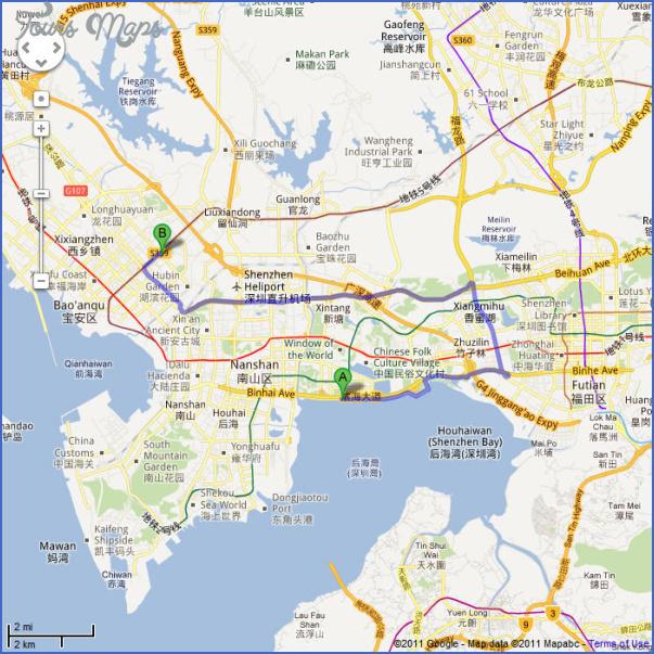 shenzhen shekou port map 4 SHENZHEN SHEKOU PORT MAP