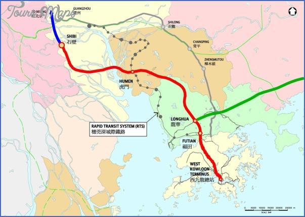 shenzhen terminal map 10 SHENZHEN TERMINAL MAP