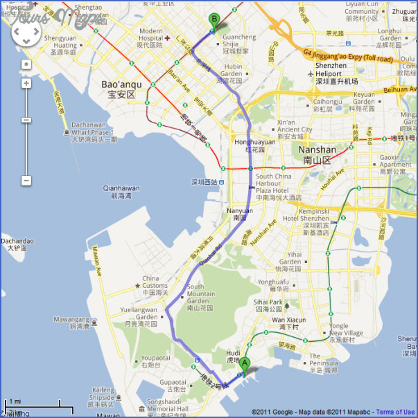 shenzhen terminal map 2 SHENZHEN TERMINAL MAP