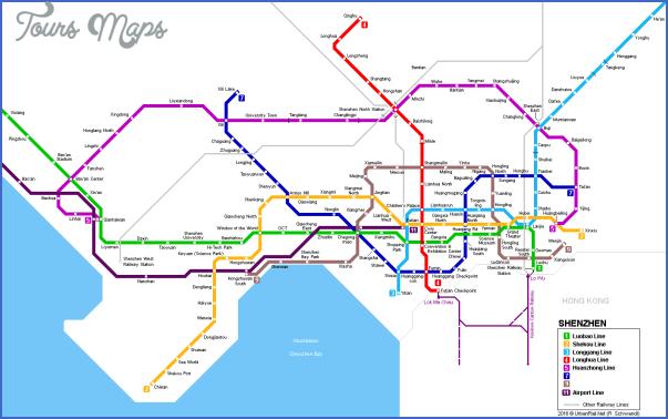 shenzhen terminal map 9 SHENZHEN TERMINAL MAP
