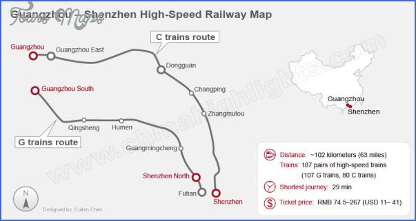 shenzhen train line map 0 SHENZHEN TRAIN LINE MAP