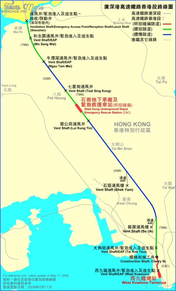 shenzhen train line map 3 SHENZHEN TRAIN LINE MAP