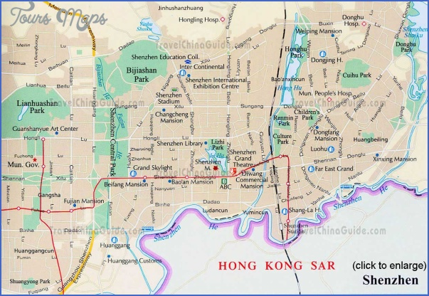 Shenzhen Weather Map Toursmaps Com