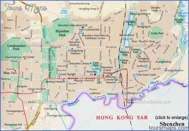 shenzhen SHENZHEN LAO JIE MAP