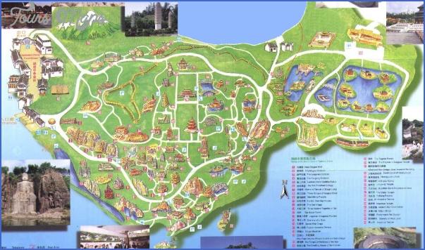 splendidmap SHENZHEN TOURIST MAP
