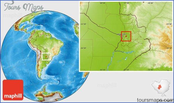 tobati map paraguay 6 Tobati Map Paraguay