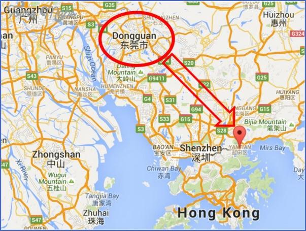 yantian shenzhen map 4 YANTIAN SHENZHEN MAP