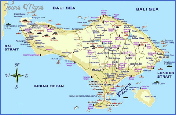 bali map  6 Bali Map