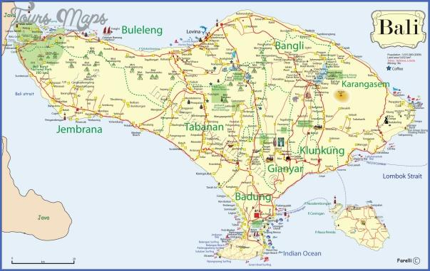 bali map  7 Bali Map