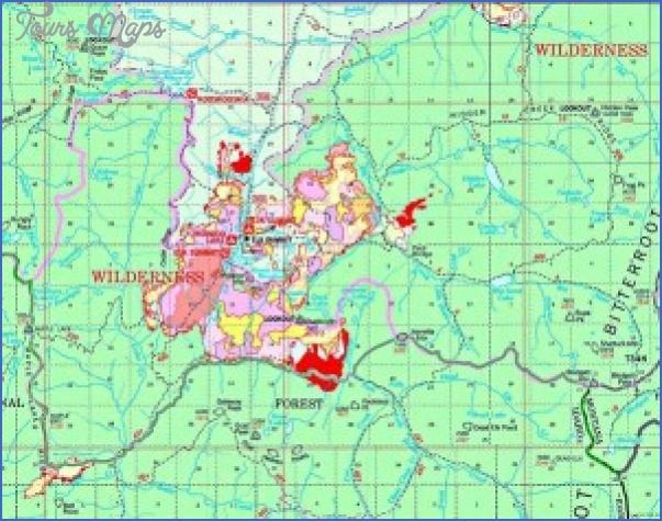 Bitterroot Valley Map Toursmaps Com