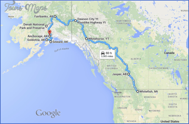GOOGLE MAP OF MONTANA USA - ToursMaps.com ®