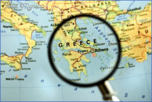 greece map Greece Map For Tourists