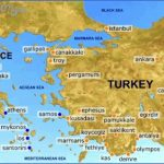map of greece and turkey tourist sites 150x150 Greece Map For Tourists