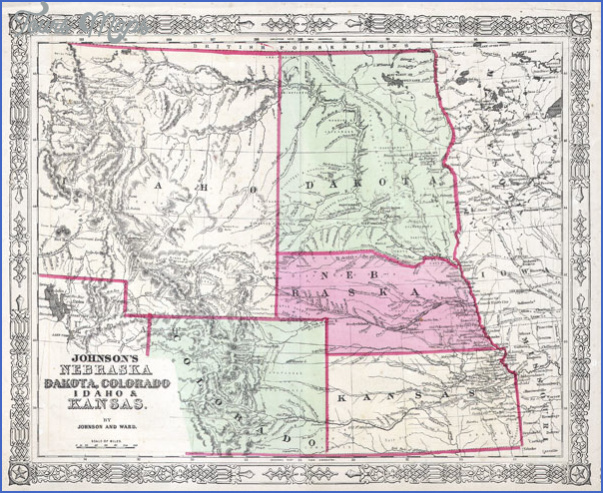 map of montana and wyoming 5 MAP OF MONTANA AND WYOMING