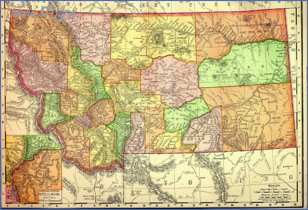map of montana with counties and cities 3 MAP OF MONTANA WITH COUNTIES AND CITIES