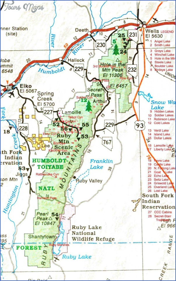 map of ruby valley montana 13 MAP OF RUBY VALLEY MONTANA