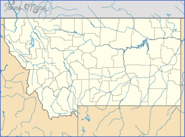 montana map usa 7 MONTANA MAP USA