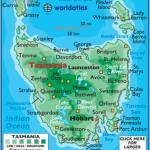 tasmania map 4 150x150 Tasmania Map