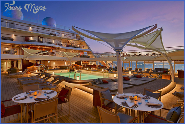the best shipboard cuisine luxury 0 THE best SHIPBOARD CUISINE, LUXURY