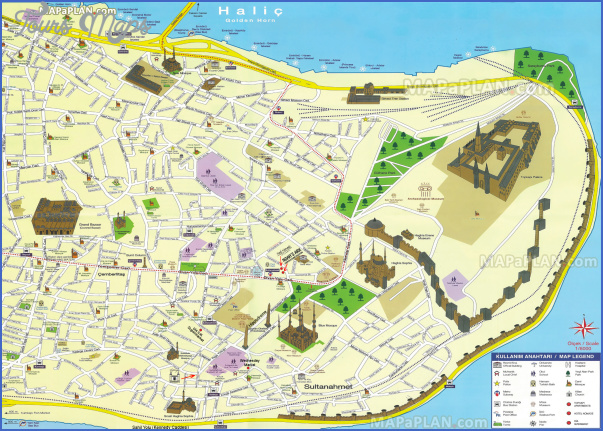 turkey map for tourists 14 Turkey Map For Tourists