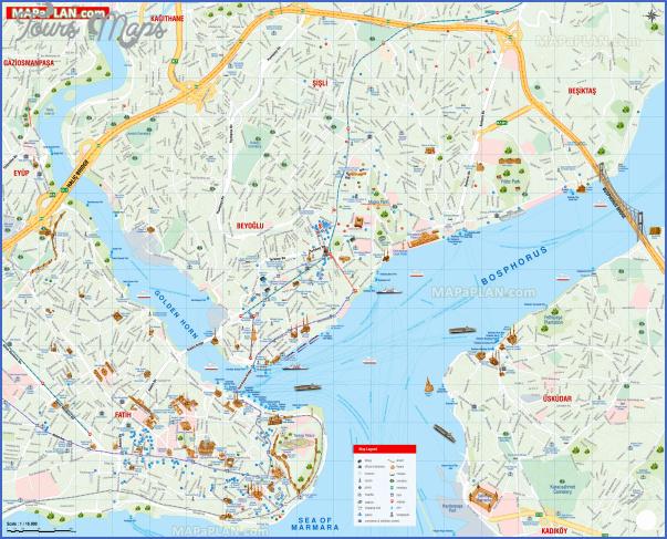 turkey map for tourists 3 Turkey Map For Tourists