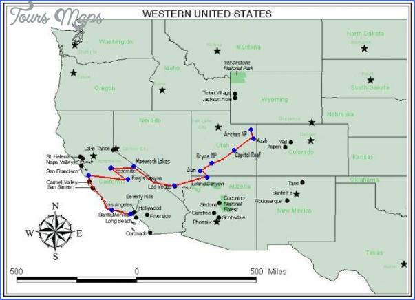 zion national park us map 8 ZION NATIONAL PARK US MAP