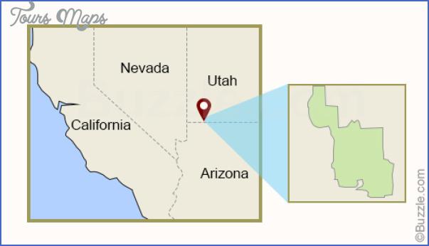 zion park map utah 4 ZION PARK MAP UTAH