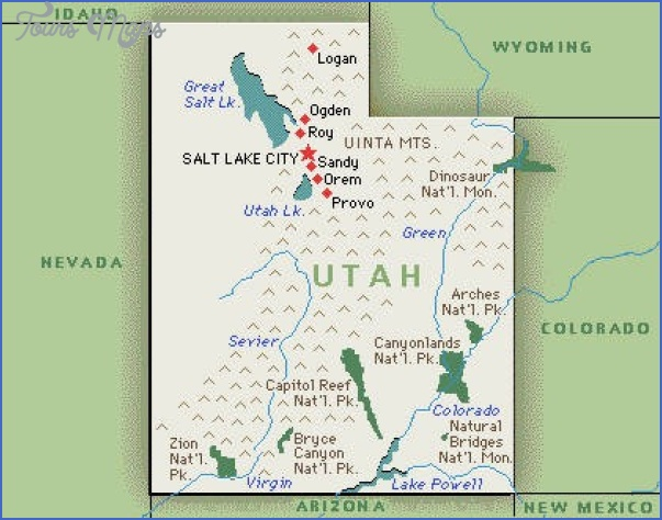 Map Utah Parks Arches National Park National Park Inspiring