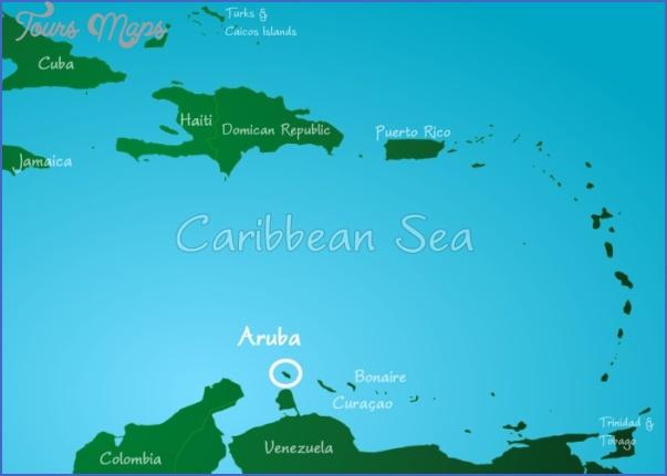 aruba map 15 Aruba Map