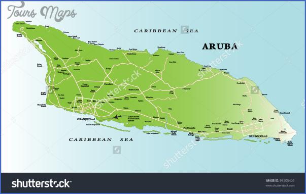 aruba map 19 Aruba Map
