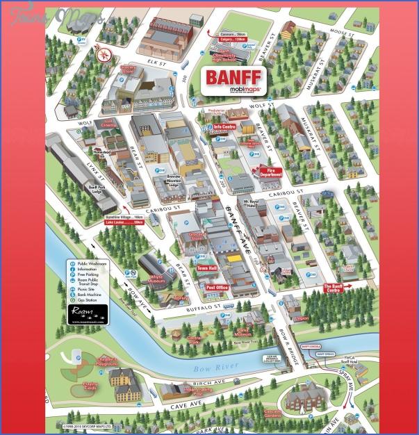 banff map 2 Banff Map