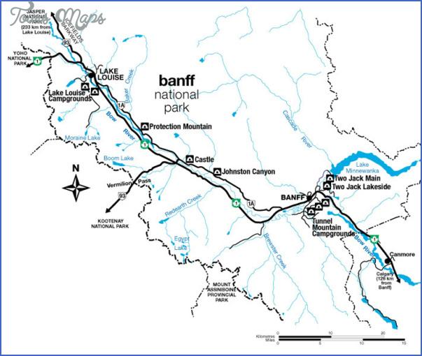 banff map 7 Banff Map