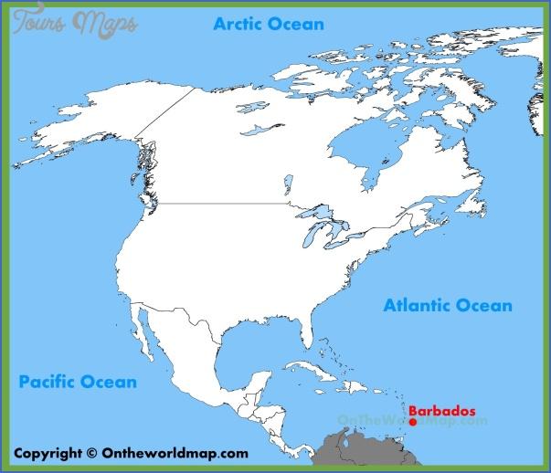 barbados map 4 Barbados Map