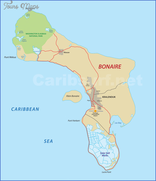 bonairemapxl Travel to Bonaire